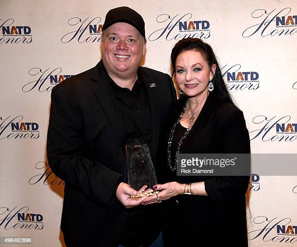 Honoree and President/CEO at Webster PR Kirt Webster and guest attend the NATD Honors Gala on November 9 2015 in Nashville Tennessee