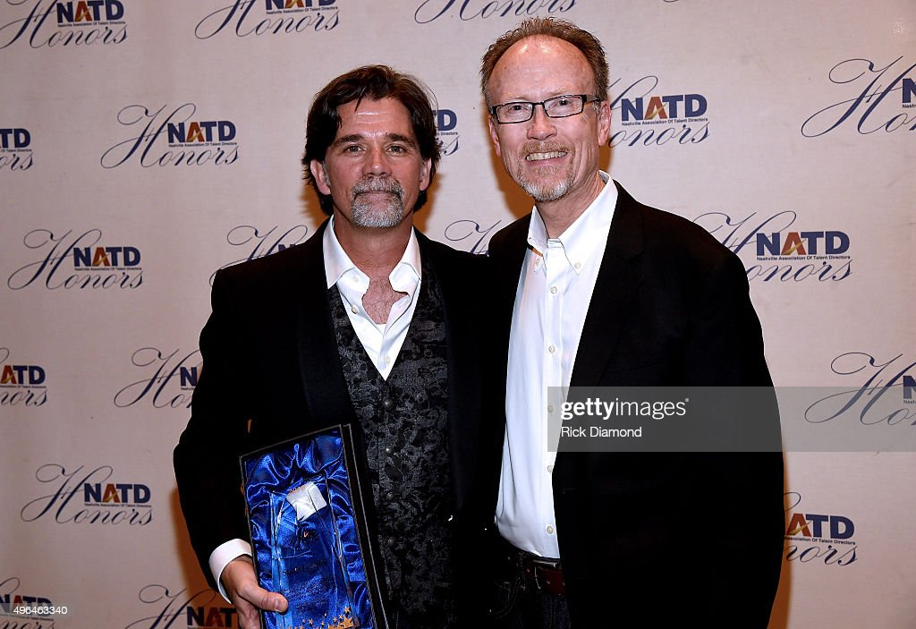 Honoree and Senior Vice President, APA Nashville Steve Lassiter (L) attends the NATD Honors Gala on November 9, 2015 in Nashville, Tennessee.
