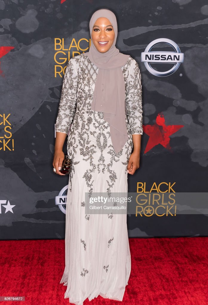 Honoree and U.S. olympic athlete Ibtihaj Muhammad attends Black Girls Rock! 2017 at New Jersey Performing Arts Center on August 5, 2017 in Newark, New Jersey.
