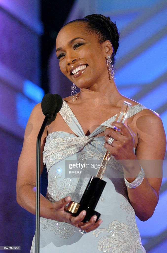 Honoree Angela Bassett during The 2004 Trumpet Awards - Show at Omni Hotel in Atlanta, Georgia, United States.