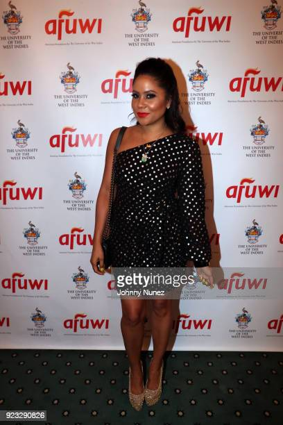 Honoree Angela Yee attends the 2018 AFUWI Gala at The Pierre Hotel on February 22 2018 in New York City