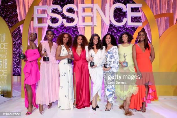 Honoree Angelica Ross honoree Lashana Lynch honoree Janet Mock Eve honoree Hailie Sahar honoree Mj Rodriguez honoree Melina Matsoukas and Issa Rae...