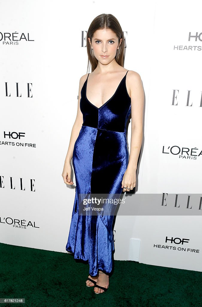 Honoree Anna Kendrick attends the 23rd Annual ELLE Women In Hollywood Awards at Four Seasons Hotel Los Angeles at Beverly Hills on October 24, 2016 in Los Angeles, California.