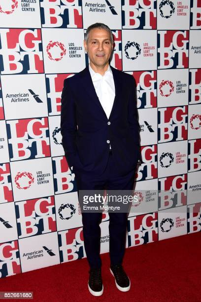 Honoree Ariel Emanuel attends Los Angeles LGBT Center's 48th Anniversary Gala Vanguard Awards at The Beverly Hilton Hotel on September 23 2017 in...
