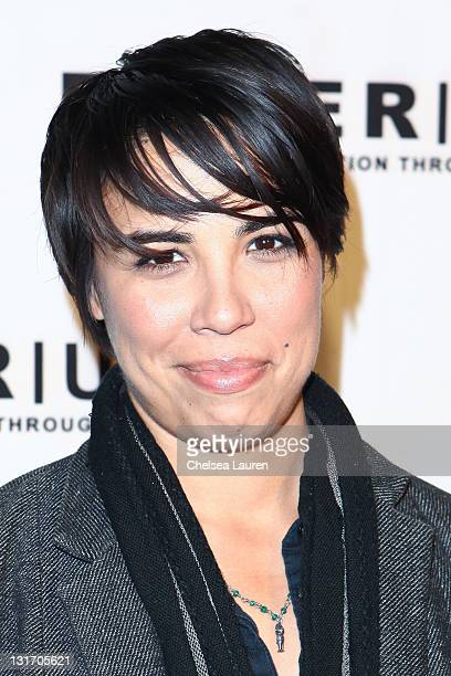 Honoree author Michelle Knudsen attends POWER UP's 11th annual power premiere honoring amazing gay women and men in showbiz at Eden on November 6...