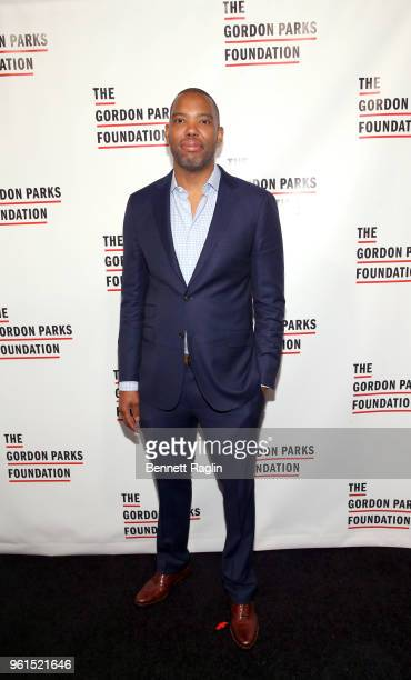 Honoree Author TaNehisi Coates attends Gordon Parks Foundation 2018 Awards Dinner Auction at Cipriani 42nd Street on May 22 2018 in New York City