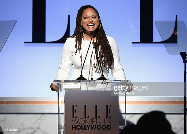 Honoree Ava DuVernay speaks onstage during the 22nd Annual ELLE Women in Hollywood Awards presented by Calvin Klein Collection L'Oréal Paris and...