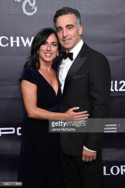 Honoree Avery Lipman and Janet Lipman attend the 2018 Angel Ball hosted by Gabrielle's Angel Foundation at Cipriani Wall Street on October 22 2018 in...