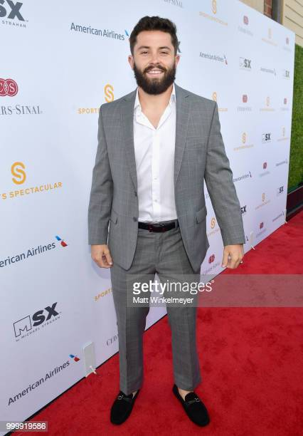 Honoree Baker Mayfield attends the 33rd Annual CedarsSinai Sports Spectacular at The Compound on July 15 2018 in Inglewood California