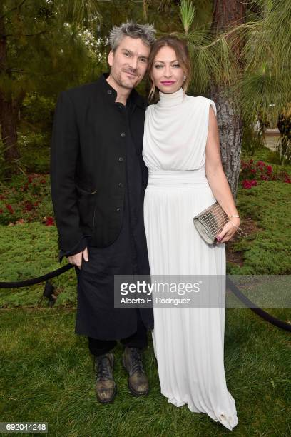 Honoree Balthazar Getty and Chrysalis Butterfly Ball Cochair Rebecca GayheartDane at the 16th Annual Chrysalis Butterfly Ball on June 3 2017 in Los...