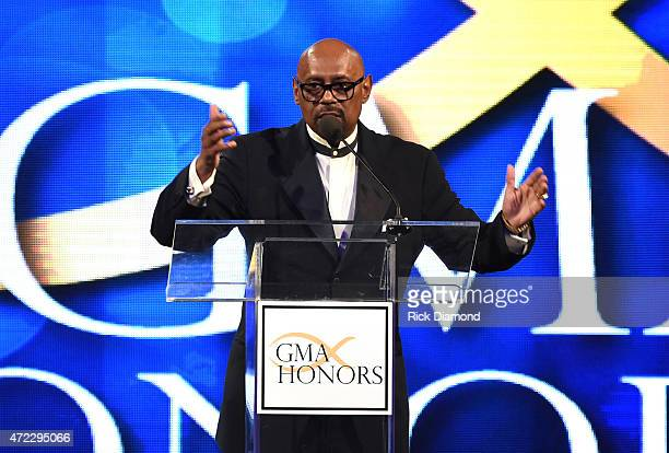 Honoree Bishop Paul S. Morton during The 2nd Annual GMA Honors at Allen Arena, Lipscomb University on May 5, 2015 in Nashville, Tennessee.
