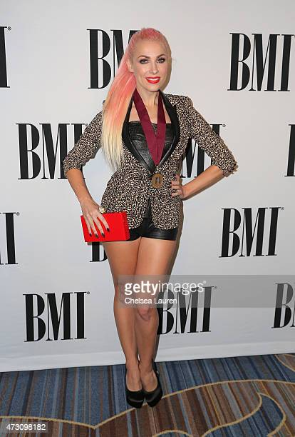 Honoree Bonnie McKee attends the 63rd Annual BMI Pop Awards held at the Beverly Wilshire Hotel on May 12 2015 in Beverly Hills California