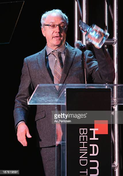Honoree Brad Einhorn speaks onstage during Hamilton and Los Angeles Confidential Magazine's announcement of the 7th Annual Hamilton Behind The Camera...
