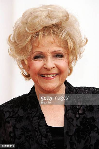 Honoree Brenda Lee arrives at The Recording Academy's Special Merit Awards Ceremony at Wilshire Ebell Theater on February 7 2009 in Los Angeles...