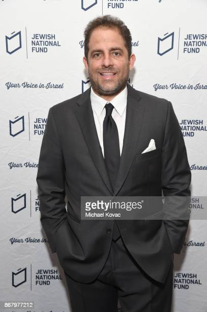 Honoree Brett Ratner attends the Jewish National Fund Los Angeles Tree Of Life Dinner at Loews Hollywood Hotel on October 29 2017 in Hollywood...