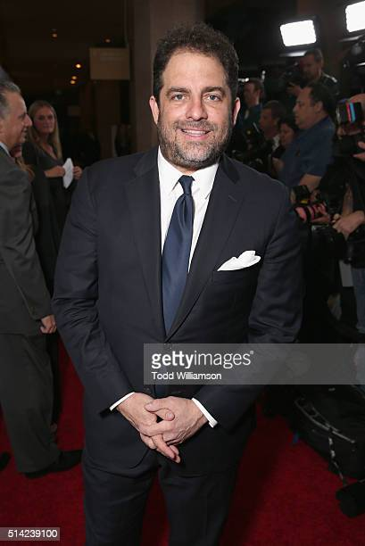 Honoree Brett Ratner attends the Venice Family Clinic Silver Circle Gala 2016 honoring Brett Ratner and Bill Flumenbaum at The Beverly Hilton Hotel...