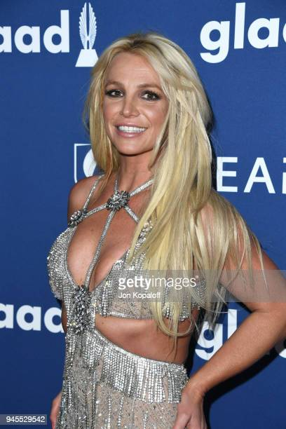 Honoree Britney Spears attends the 29th Annual GLAAD Media Awards at The Beverly Hilton Hotel on April 12 2018 in Beverly Hills California