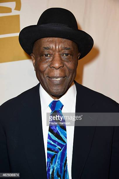 Honoree Buddy Guy attends The 57th Annual GRAMMY Awards Special Merit Awards Ceremony on February 7 2015 in Los Angeles California