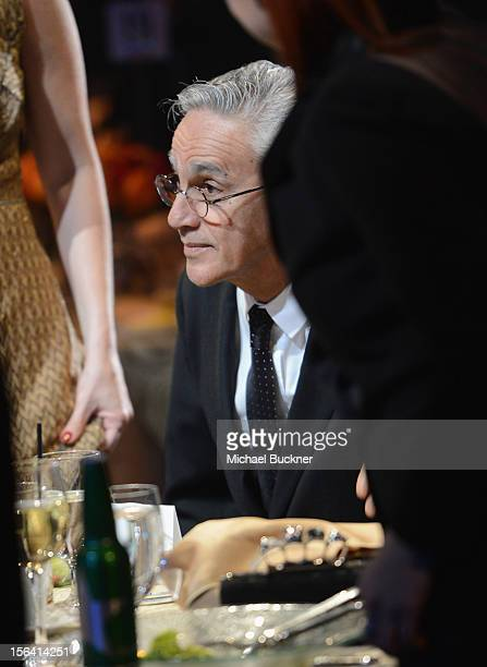 Honoree Caetano Veloso attends the 2012 Person of the Year honoring Caetano Veloso at the MGM Grand Garden Arena on November 14 2012 in Las Vegas...