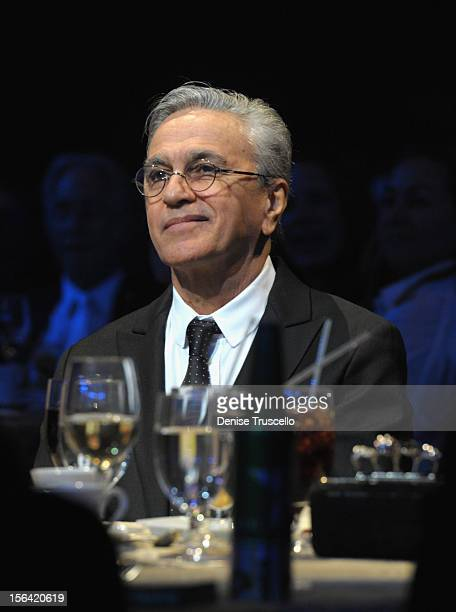 Honoree Caetano Veloso during the 2012 Person of the Year honoring Caetano Veloso at the MGM Grand Garden Arena on November 14 2012 in Las Vegas...