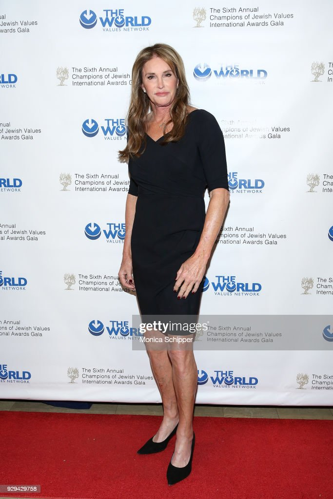 Honoree Caitlyn Jenner attends the 2018 World Values Network Champions of Jewish Values Awards Gala at The Plaza Hotel on March 8, 2018 in New York City.