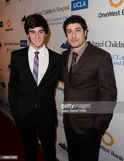 Honoree Cameron Cohen Innovator Award recipient and actor Jason Biggs attend The Kaleidoscope Ball Designing The Future benefitting the UCLA...