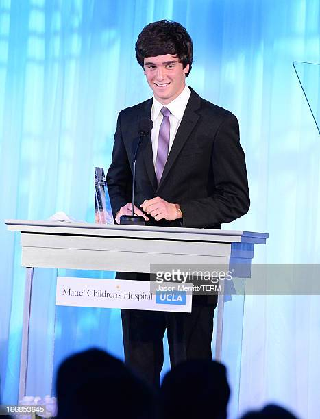 Honoree Cameron Cohen recipient of the Innovator Award speaks onstage during The Kaleidoscope Ball Designing The Future benefitting the UCLA...