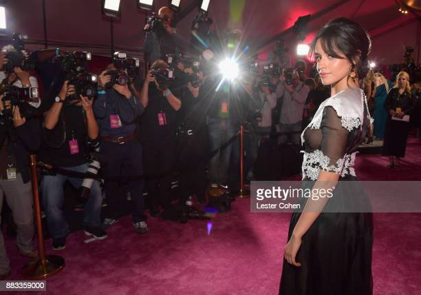 Honoree Camila Cabello attends Billboard Women In Music 2017 at The Ray Dolby Ballroom at Hollywood Highland Center on November 30 2017 in Hollywood...