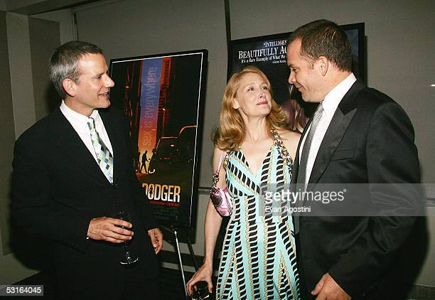 Honoree Campbell Scott actress Patricia Clarkson and actor Peter Sarsgaard attend the 5th Annual 'Young Friends Of Film Honors' tribute to Campbell...