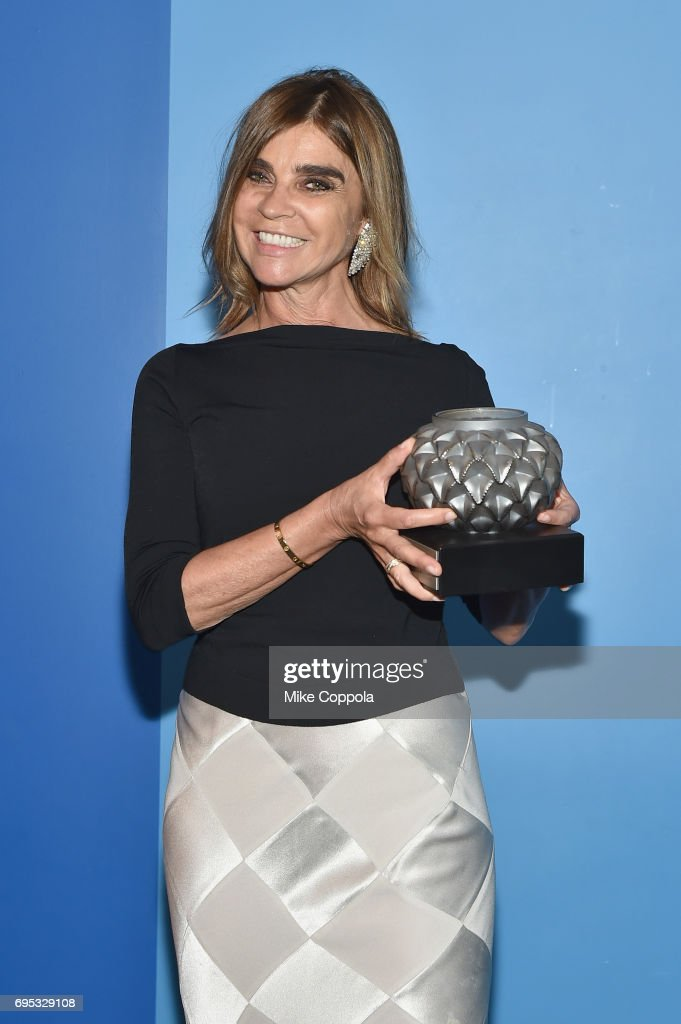Honoree Carine Roitfeld attends French Institute Alliance Francaise (FIAF)'s 2017 Art de Vivre Award Gala at French Institute Alliance Francaise on June 12, 2017 in New York City. (Photo by Mike Coppola/Getty Images for French Institute Alliance Francaise (FIAF))