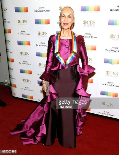 Honoree Carmen de Lavallade attends the 40th Kennedy Center Honors at the Kennedy Center on December 3 2017 in Washington DC