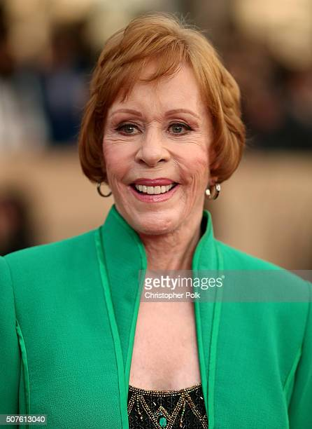 Honoree Carol Burnett attends The 22nd Annual Screen Actors Guild Awards at The Shrine Auditorium on January 30 2016 in Los Angeles California...