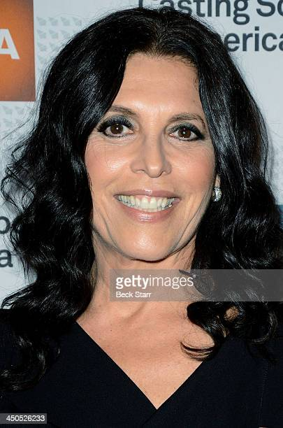 Honoree casting director Linda Lowy arrives at the 2013 Casting Society of America's Artios Awards at The Beverly Hilton Hotel on November 18 2013 in...