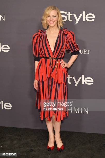 Honoree Cate Blanchett attends 3rd Annual InStyle Awards at The Getty Center on October 23 2017 in Los Angeles California