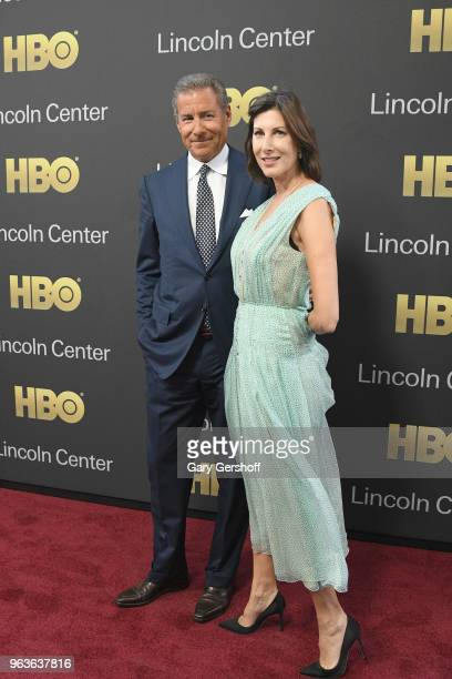 Honoree Chairman CEO of HBO Richard Plepler and Lisa Plepler attend the 2018 Lincoln Center American Songbook gala honoring HBO's Richard Plepler at...