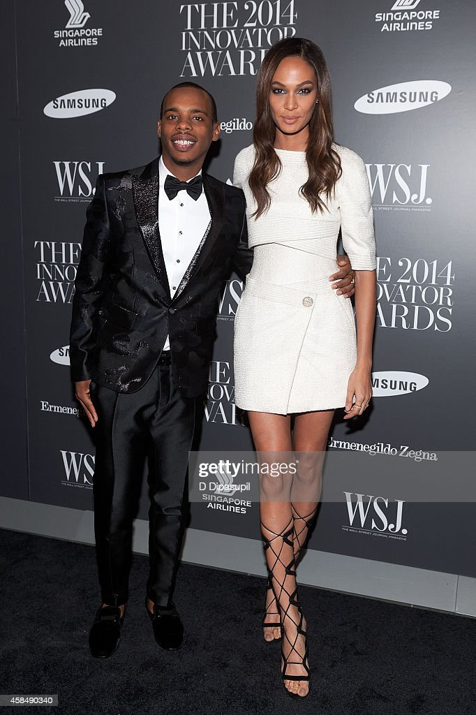 Honoree Charles 'Lil Buck' Riley (L) and Joan Smalls attend WSJ. Magazine's 'Innovator Of The Year' Awards at the Museum of Modern Art on November 5, 2014 in New York City.