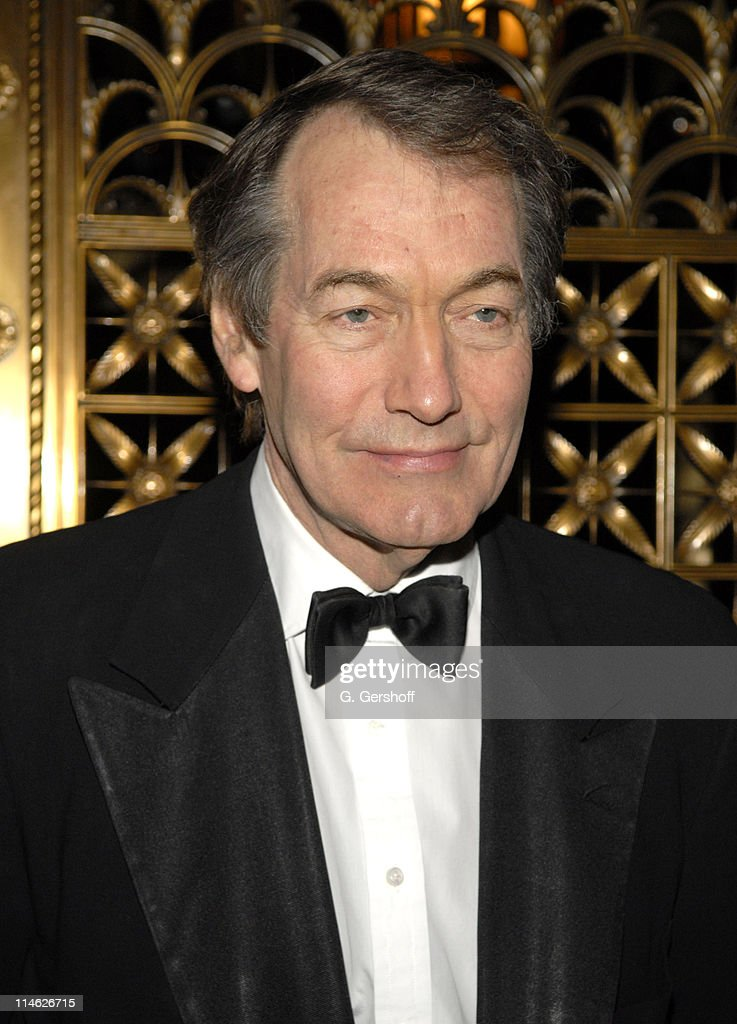 The French Institute  Alliance Frantaise Honors Charlie Rose and Bertrand