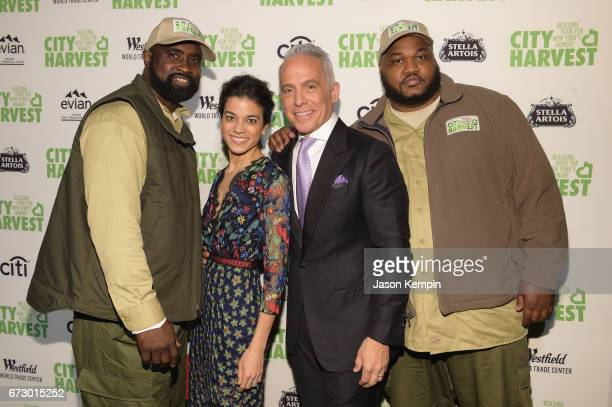 Honoree Chef Geoffrey Zakarian and Margaret Anne Williams attend the City Harvest's 23rd Annual Evening Of Practical Magic at Cipriani 42nd Street on...