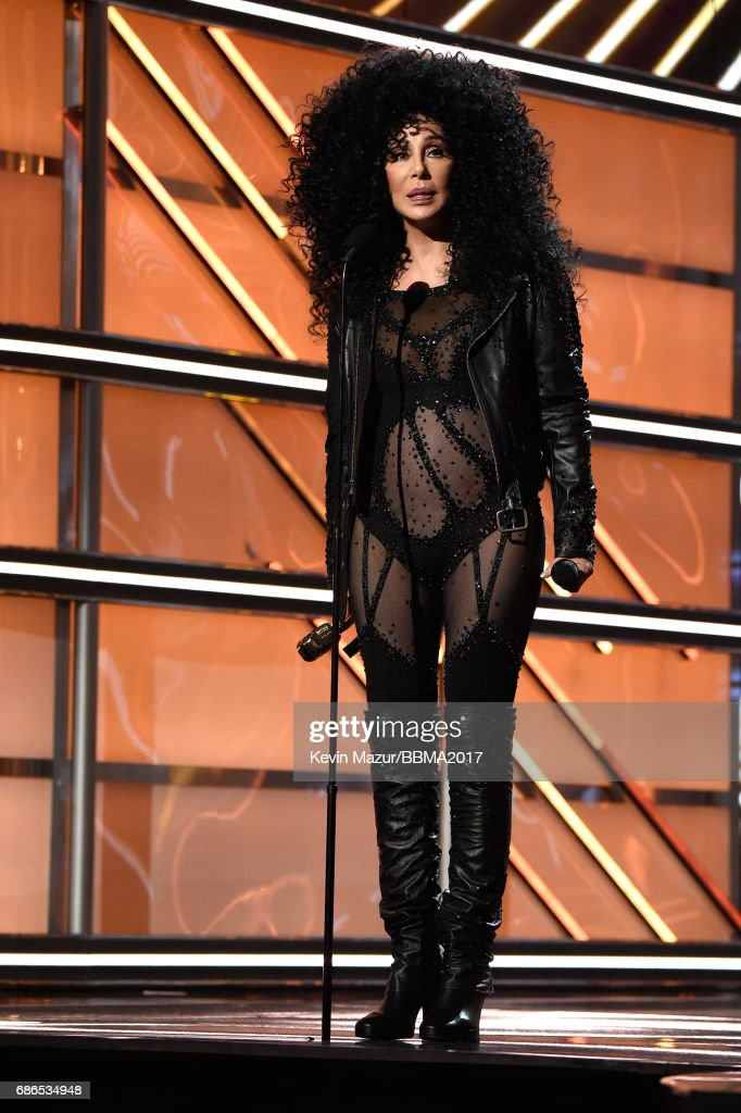 Honoree Cher accepts the Icon Award onstage during the 2017 Billboard Music Awards at T-Mobile Arena on May 21, 2017 in Las Vegas, Nevada.