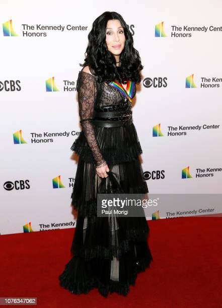 Honoree Cher arrives at the 2018 Kennedy Center Honors at The Kennedy Center on December 02 2018 in Washington DC
