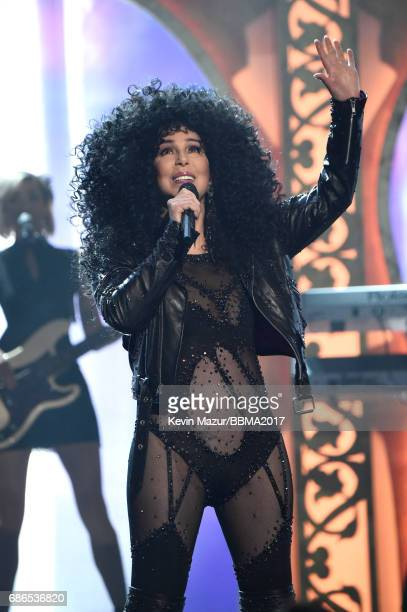 Honoree Cher performs onstage during the 2017 Billboard Music Awards at TMobile Arena on May 21 2017 in Las Vegas Nevada