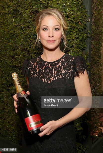 Honoree Christina Applegate attends the 2nd Annual unite4humanity presented by ALCATEL ONETOUCH at the Beverly Hilton Hotel on February 19 2015 in...