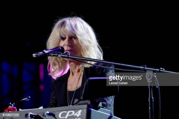 Honoree Christine McVie of Fleetwood Mac performs onstage during MusiCares Person of the Year honoring Fleetwood Mac at Radio City Music Hall on...