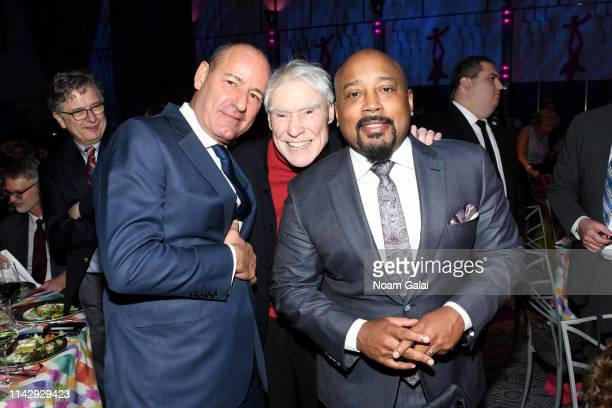 Honoree Christopher Schlank NDI founder Jacques d'Amboise and Honoree Daymond John attend the National Dance Institute's 43rd Annual Gala at Ziegfeld...