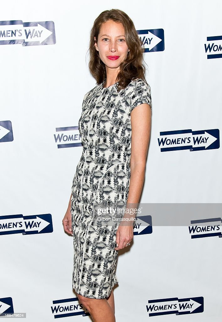 Honoree Christy Turlington Burns attends the 36th Annual Women's Way Powerful Voice Awards honoring Christy Turlington Burns at the Sheraton Philadelphia Downtown Hotel on May 9, 2013 in Philadelphia, Pennsylvania.