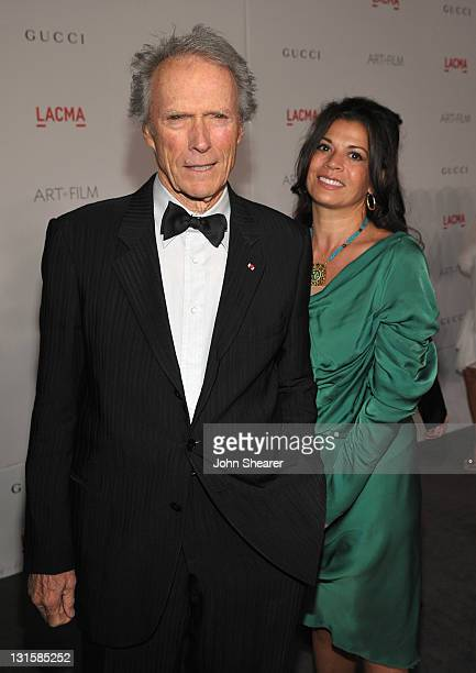 Honoree Clint Eastwood and wife Dina Eastwood attend LACMA Art Film Gala Honoring Clint Eastwood and John Baldessari Presented By Gucci at Los...