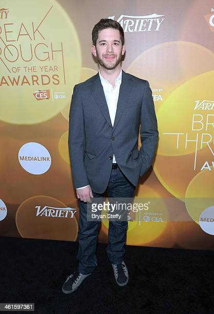 Honoree Colin Kroll attends the Variety Breakthrough of the Year Awards during the 2014 International CES at The Las Vegas Hotel Casino on January 9...