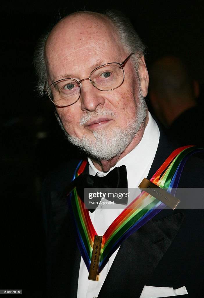 Honoree composer John Williams arrives at the 27th Annual Kennedy Center Honors Gala at The Kennedy Center for the Performing Arts, December 5, 2004 in Washington, D.C.