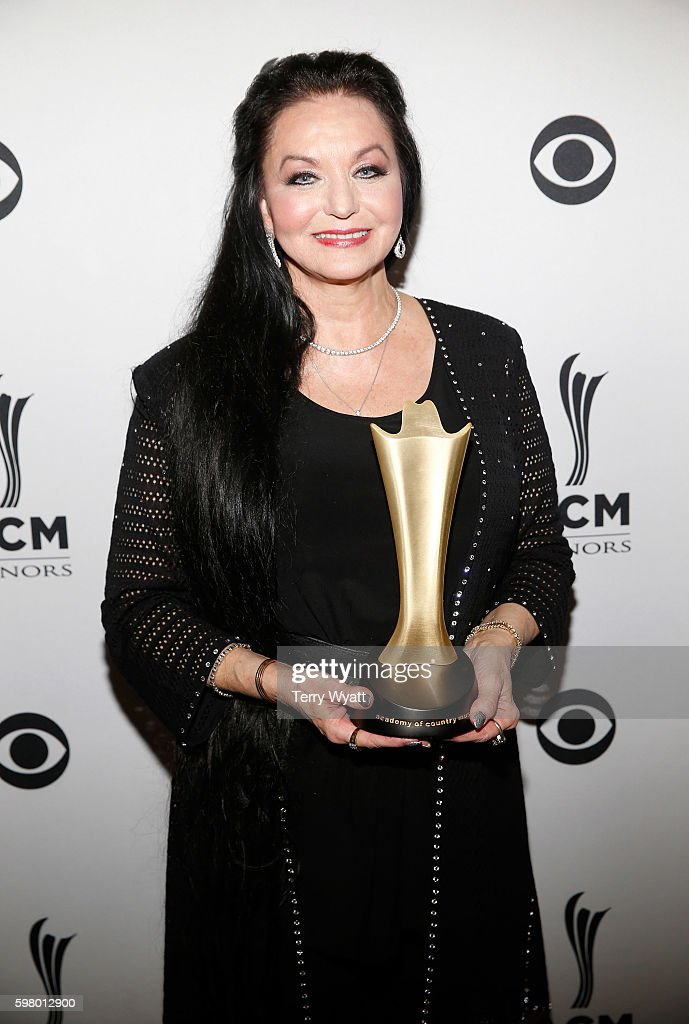 Honoree Crystal Gayle attends the 10th Annual ACM Honors at the Ryman Auditorium on August 30, 2016 in Nashville, Tennessee.