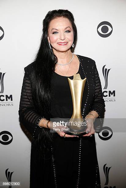 Honoree Crystal Gayle attends the 10th Annual ACM Honors at the Ryman Auditorium on August 30 2016 in Nashville Tennessee